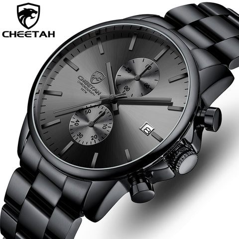 Business Black Quartz Watch