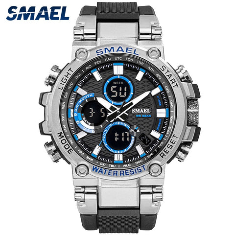 SMAEL Sport Watch with Dual Time