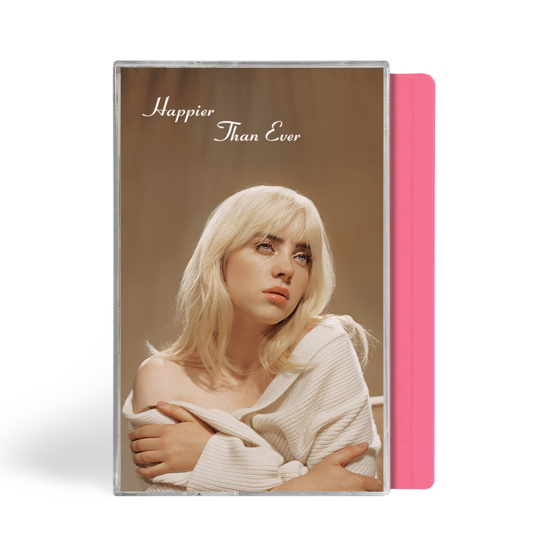 """Happier Than Ever"" cassette rose exclusive"