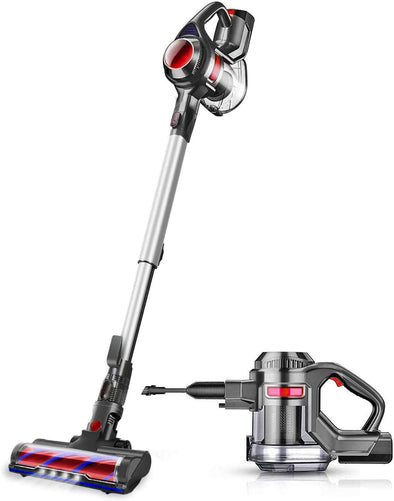 MOOSOO XL-618A Lightweight Cordless Vacuum Cleaner With Detachable Battery