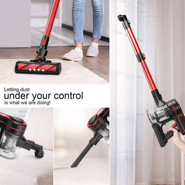 MOOSOO K17U 4 in 1 Handheld Cordless Vacuum Cleaner 24KPa Super Suction