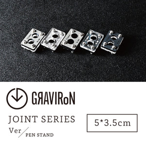 Joint Series PEN STAND BOTTOM:酸洗鉄、TOP:アクリル