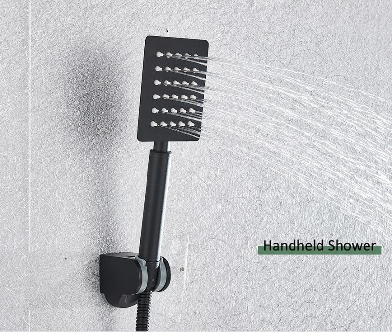 Nordic LED Display Rainfall Shower - Grona