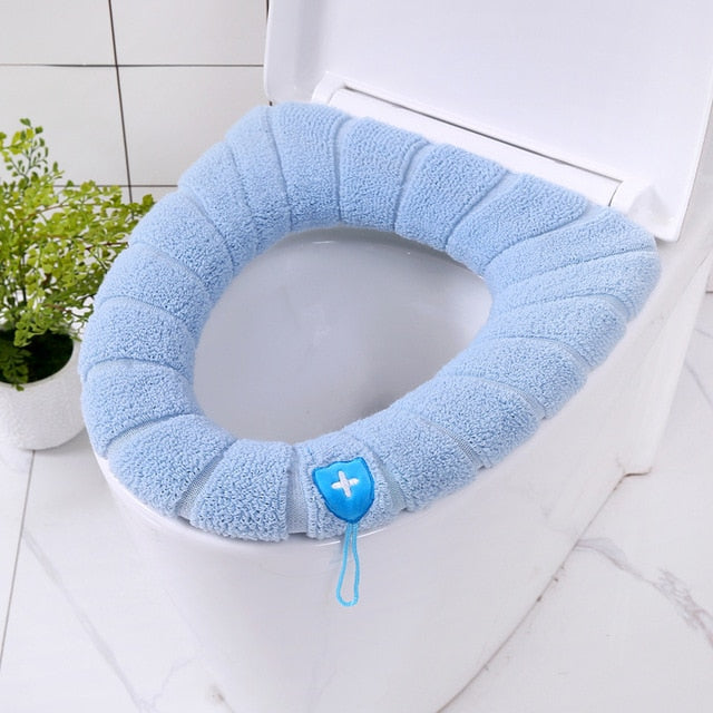 Fluffy Toilet Seat Cover - Grona