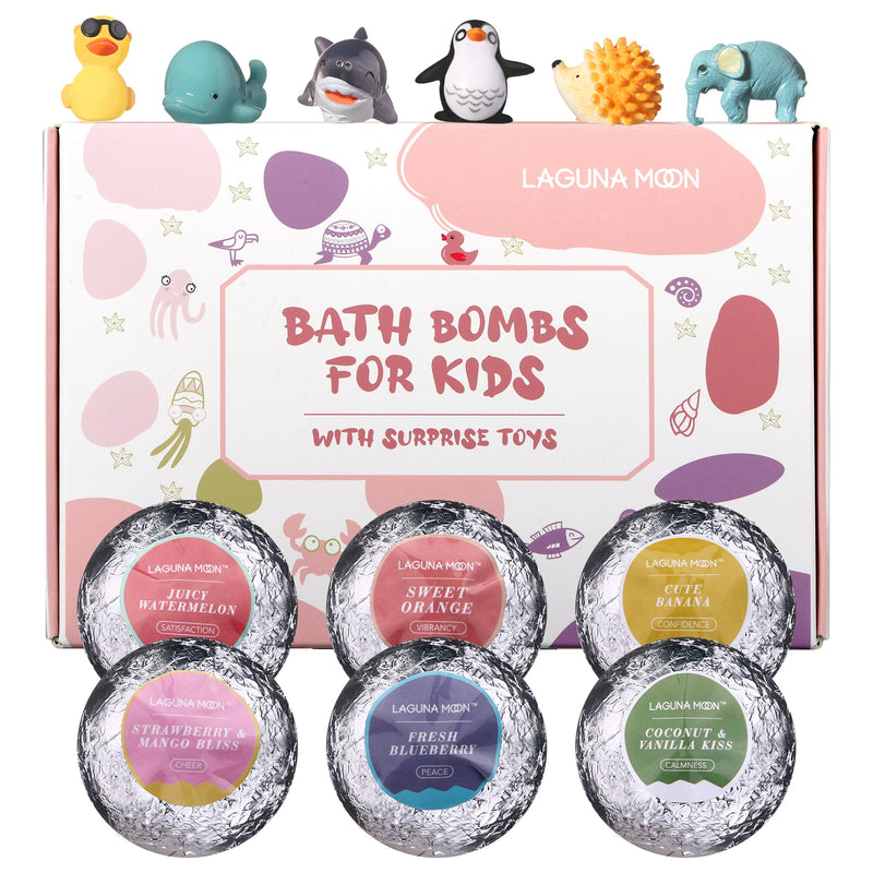 Bath Bombs for Kids with Surprise Toy - Grona
