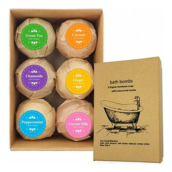 Essential Oil Bath Bomb Gift Box - Grona