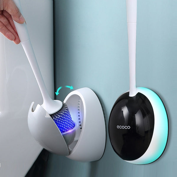 Wall-Mounted Silicone Toilet Brush - Grona
