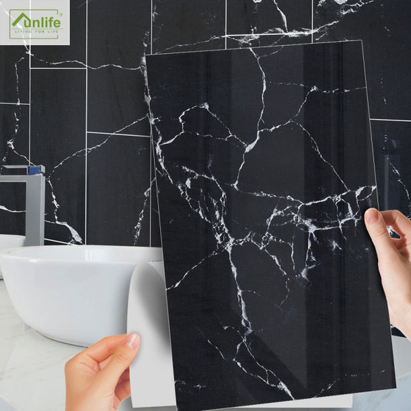 7 Styles Wallpaper Marble Sticker - Grona