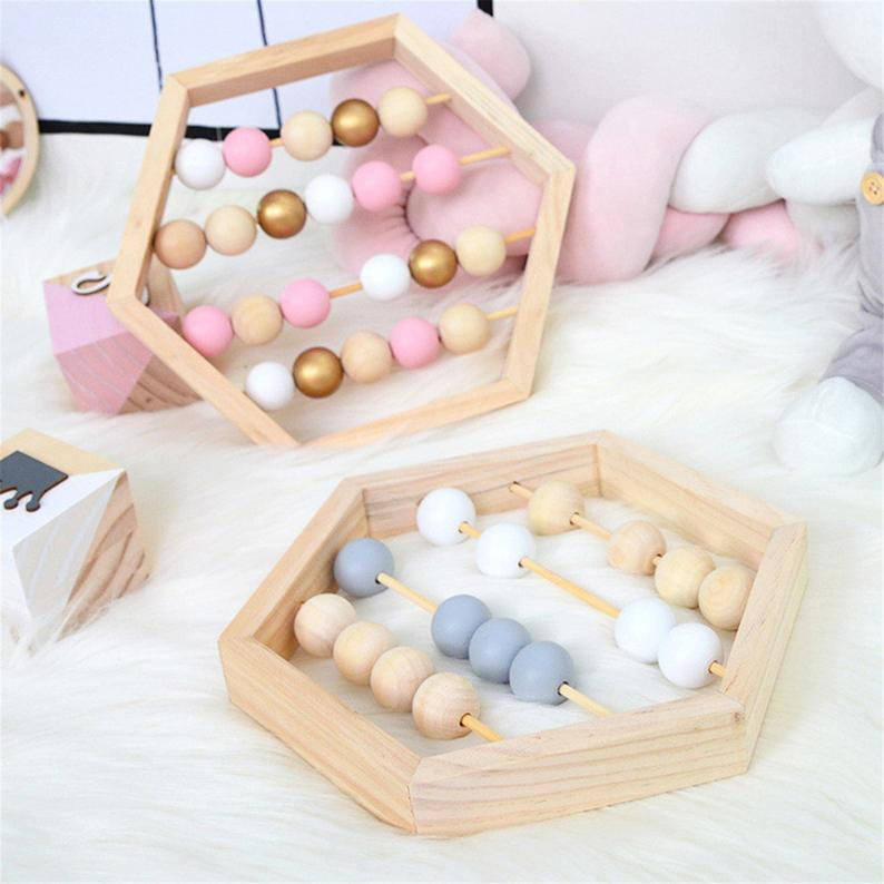 Nordic Wooden Abacus