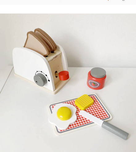 Breakfast Food Pretend Play Set