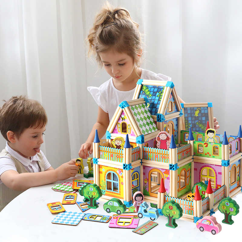 Montessori 3D Jigsaw Doll House
