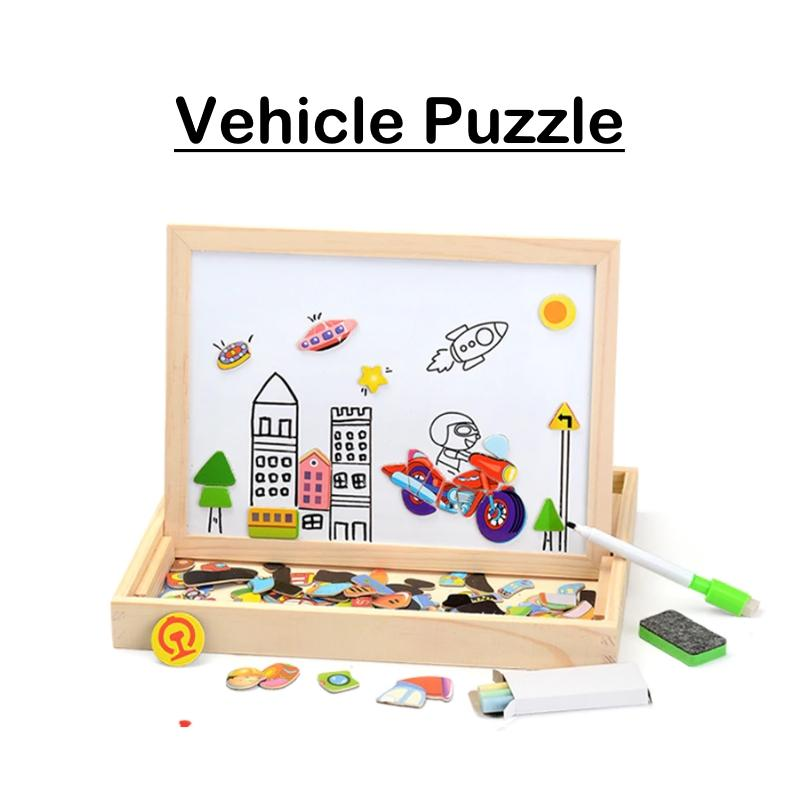 Educational Magnetic Puzzle - BrightBox™