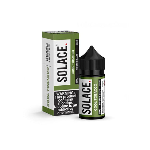 SOLACE SALTS - COOL TOBACCO 30ML