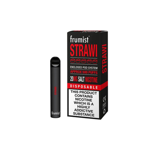 FRUMIST DISPOSABLE 500 PUFFS STRAWI
