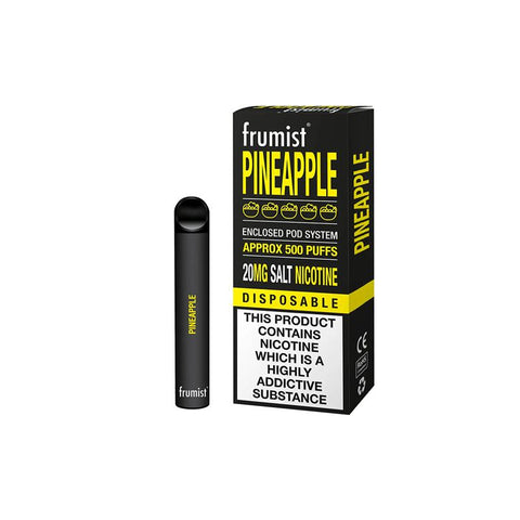 FRUMIST DISPOSABLE 500 PUFFS PINEAPPLE