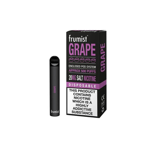 FRUMIST DISPOSABLE 500 PUFFS GRAPE