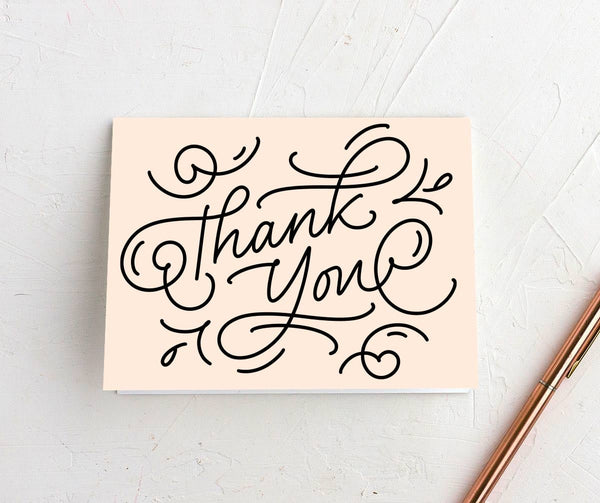 Quick hand written thank you notes | Stamp Chimp