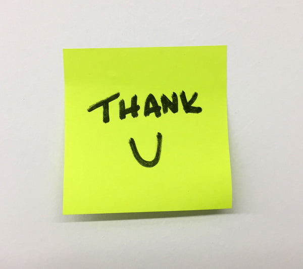 Thank you note etiquette do's and don'ts