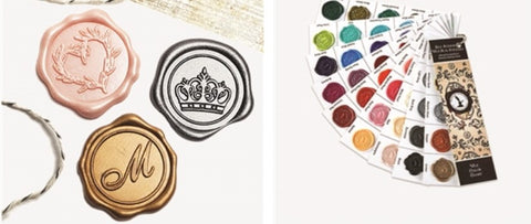 Nostalgic Impressions Wax Seal Stickers-Recommended by Stamp Chimp
