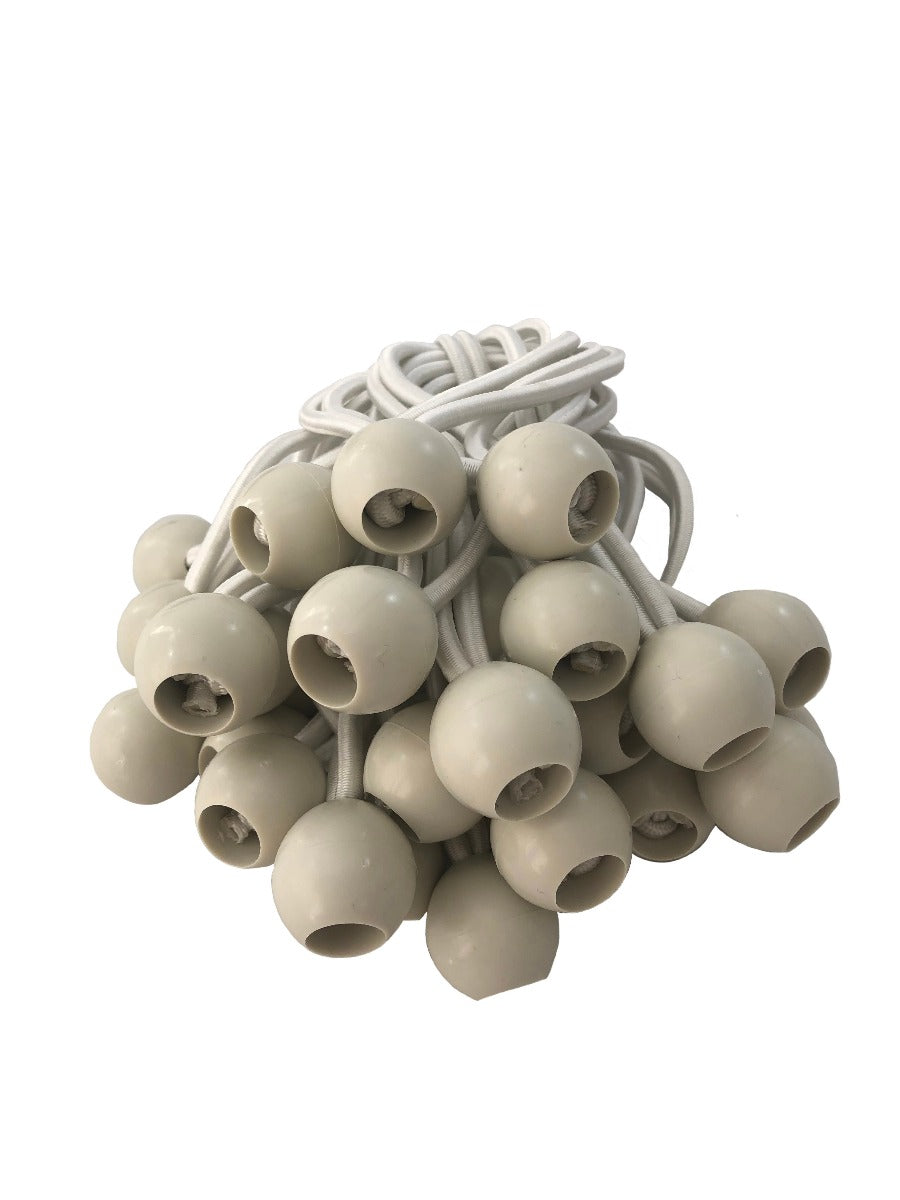 Yuzet White Bungee Cords - 10 Pieces