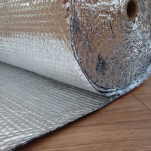 Load image into Gallery viewer, Yuzet Double Aluminium Bubble Insulation Foil, 1.2m x 50m