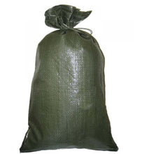 Load image into Gallery viewer, Yuzet Woven Sandbag Green - 50 Pack