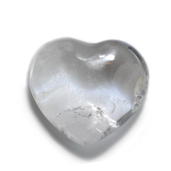 Clear Quartz Heart | Sedona Crystal Vortex