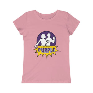 We Hack Purple Girls' Slim Princess Tee