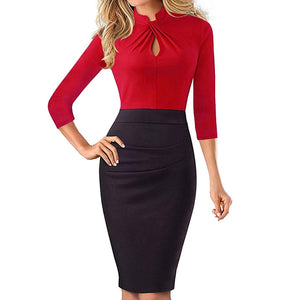 Contrasts Bodycon Dress