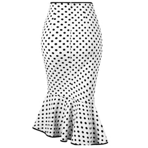 Dotted Mermaid Skirt