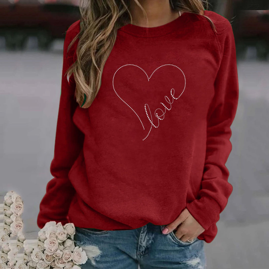 Love Heart Sweatshirt