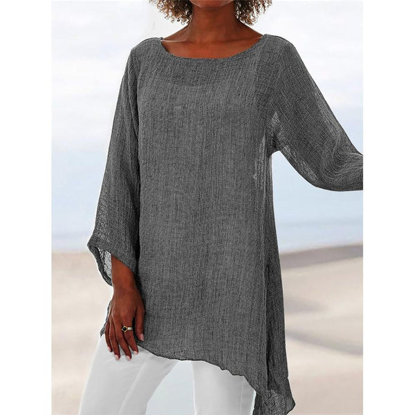Ageless anomalistic tunic blouse - Fashion Bug Online