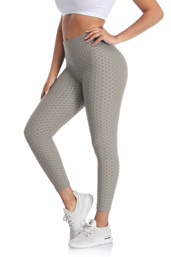 Ankle-Length Push Up Breathable Leggings - Fashion Bug Online