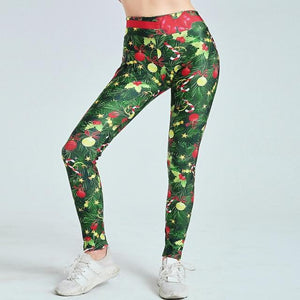 Christmas spirit athletic pants