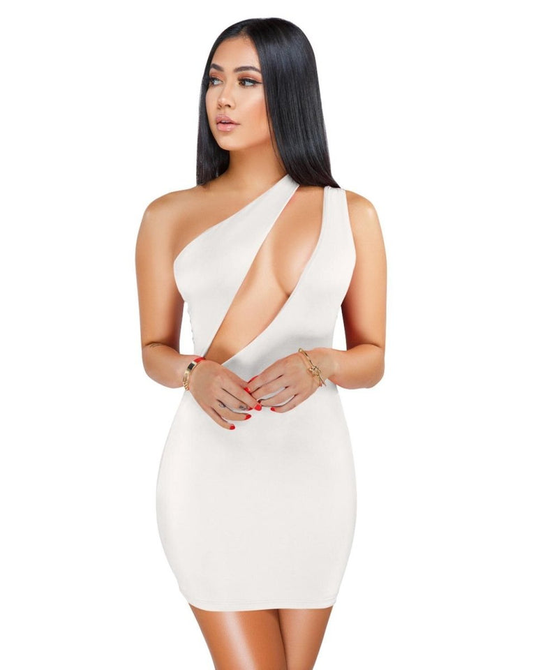 CutOut One Shoulder Slimfit Mini Dress