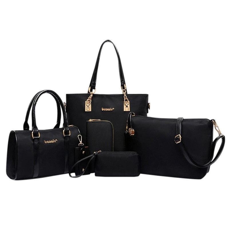 Dots classy six piece luxury handbags - Fashion Bug Online