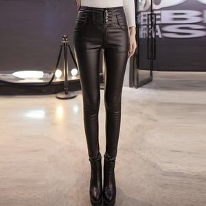 Dots leather tight pants - Fashion Bug Online