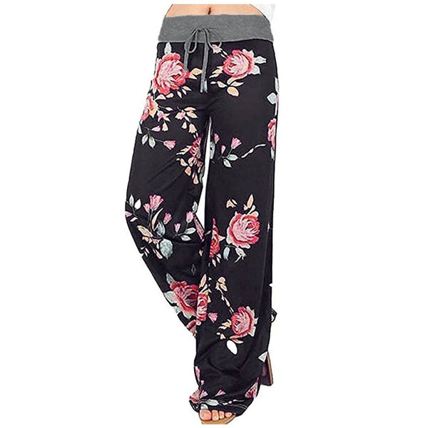 Dots rose floral pants - Fashion Bug Online