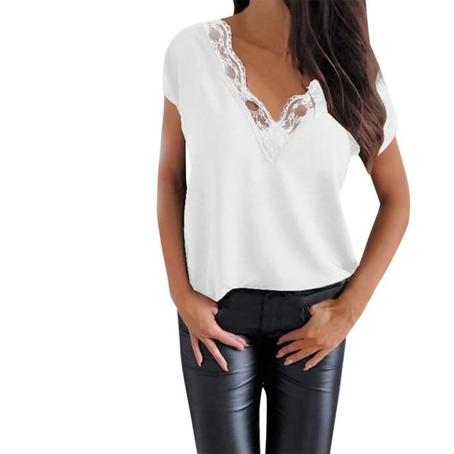 Elegantly me loose short sleeve blouse - Fashion Bug Online