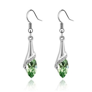 Fashion cut teardrop earrings - Fashion Bug Online