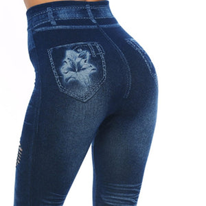 Fashionably destroyed ripped leggings - Fashion Bug Online