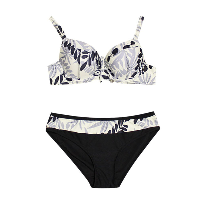 Floral High Waist Bathing Suit - Fashion Bug Online