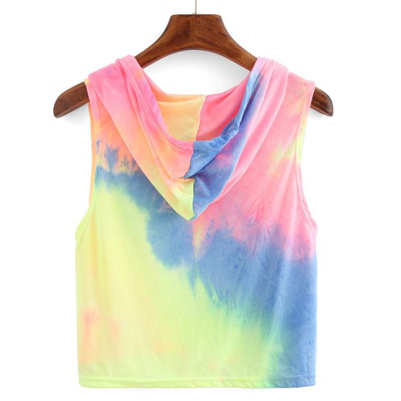 Love of rainbow sleeveless crop t-Shirt - Fashion Bug Online