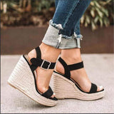 Moments to cherish wedges sandals - Fashion Bug Online