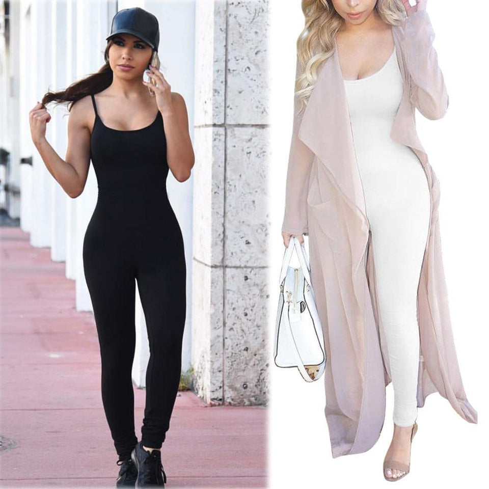 Only me skinny jumpsuit - Fashion Bug Online