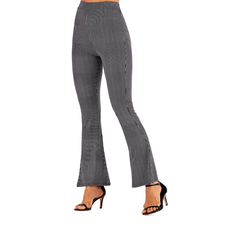 Out for a walk Wide Leg Flare Pants - Fashion Bug Online