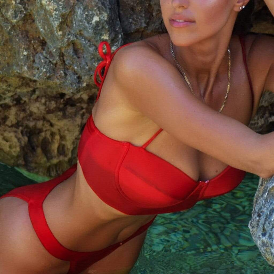 Push-Up Brazilian Sling Swimwear - Fashion Bug Online