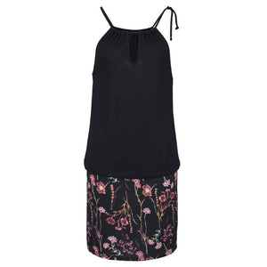 Retro floral print mini dress - Fashion Bug Online
