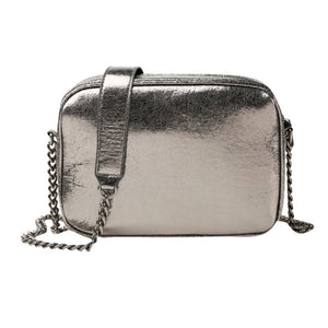 Sparkling dark-grey party bag - Fashion Bug Online