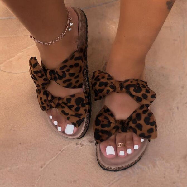 Summer fancy leopard slipper - Fashion Bug Online